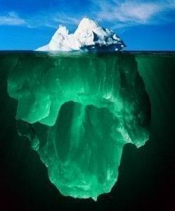 Iceberg refleja nuestro subconsciente - Auto Coaching PNL
