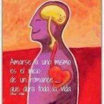 Amarse a uno mismo es el inicio de un romance que dura toda la vida