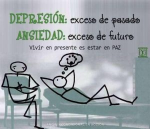 Lee más sobre el artículo Depresión: exceso de pasado. Ansiedad: exceso de futuro.