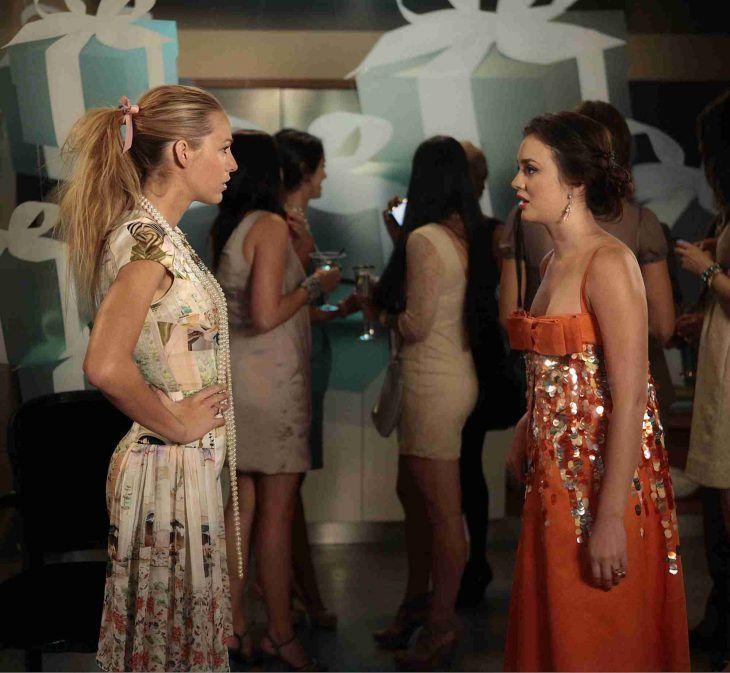 Escena de la serie gossip girl