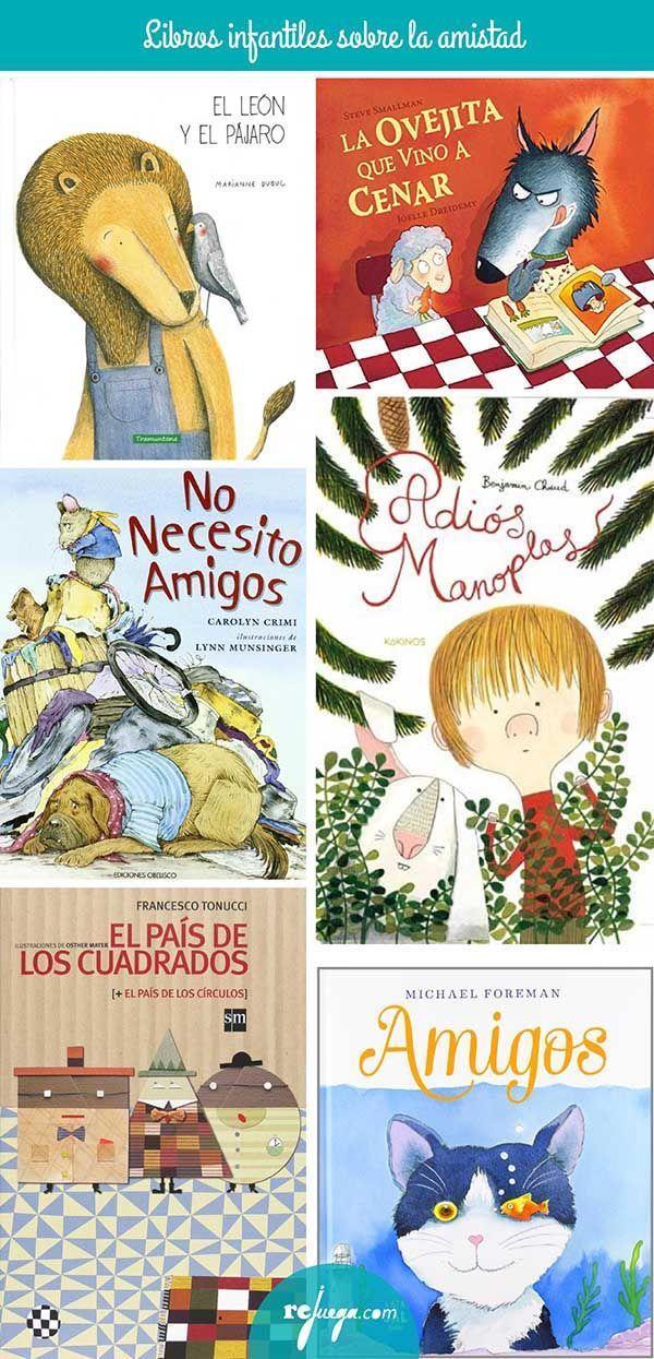 Libros para niños sobre la amistad