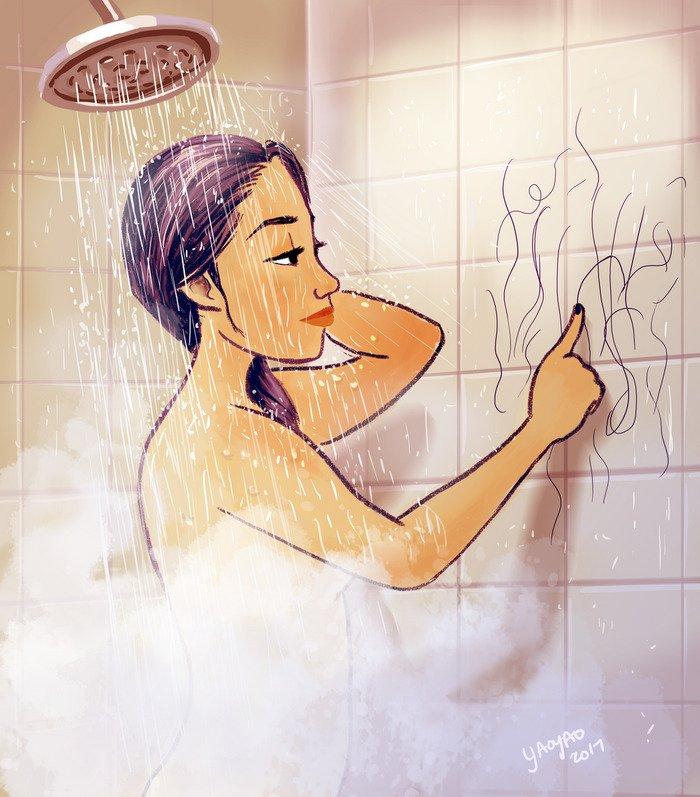 Yaoyao Ma Van As ilustraciones felicidad vivir sola 27